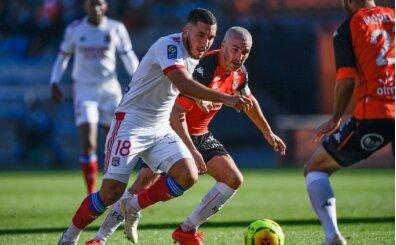 Lyon, Lorient deplasmanında 1 puanı 74'te kurtardı!