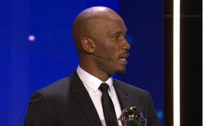 UEFA Başkanlık Ödülü'nün sahibi Drogba!