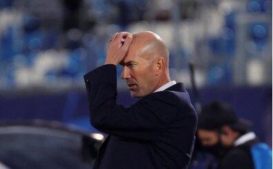 Zidane: 'Bu maçın sorumlusu benim'
