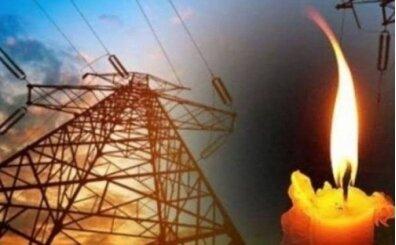Elektrik kesintisi oldu, Elektrikler gitti gelecek mi? Elektrikler saat kaçta gelir? (24 Ekim Cumartesi)