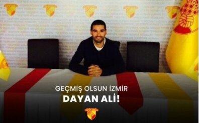 Göztepe'de staj yaptı: Enkaz altında