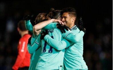 Real Madrid, zor da olsa tur atladı!