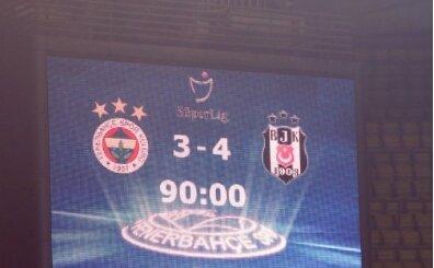 Beşiktaş'tan derbi sonrası Fenerbahçe'ye gönderme