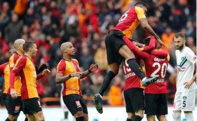 Akbaba ve Falcao, Galatasaray'ı uçurdu