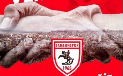 Samsunspor'dan 10 bin aileye erzak yardımı kampanyası