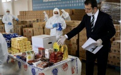 İBB (İstanbul Büyükşehir Belediyesi) Yardım Kampanyası -  500 bin aileye yardım kolisi