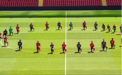 Liverpool, George Floyd'u andı!