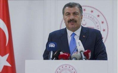 Sağlık Bakanı Fahrettin Koca günün verilerini açıkladı