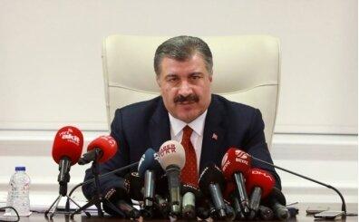 Sağlık Bakanı Koca'dan koronavirüs bilgilendirmesi