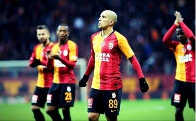 Galatasaray'da yeni kaptan Feghouli!