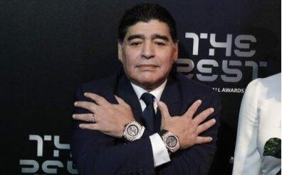 Maradona neden kollarına aynı 2 saati takıyordu?