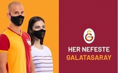 Galatasaray logolu maskeler satışa çıkıyor