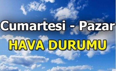 (Sıcak gelişme) Haftasonu hava nasıl? (İstanbul, İzmir, Ankara, Bursa, Samsun)