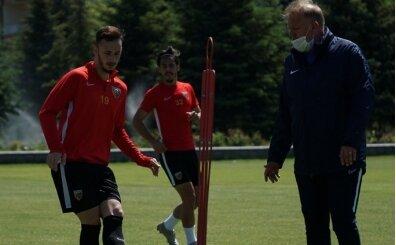 Kayserispor'da Fenerbahçe maçının hazırlıkları sürüyor