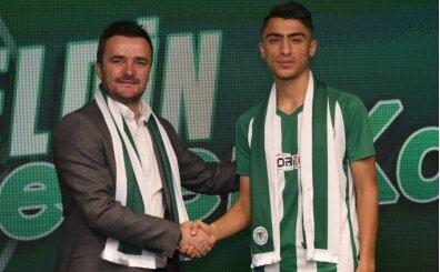 Konyaspor, altyapıdan Şener Kaya ile sözleşme imzaladı