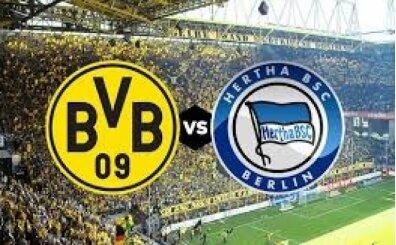 Dortmund Hertha Berlin maçı canlı şifresiz