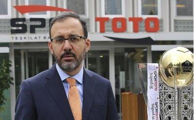 Bakan Kasapoğlu: 'Türk sporu, şehitlerimiz için tek yürek oldu'