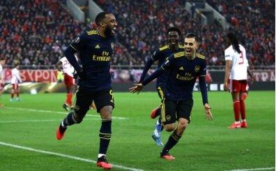 Mesut Özil'siz Arsenal, Pire'de zorlandı