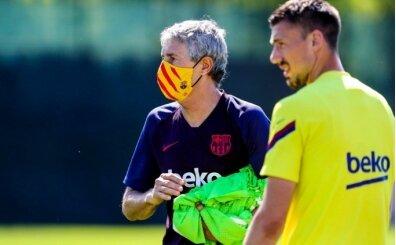 Barcelona, logolu sağlık maskesi satışına başladı