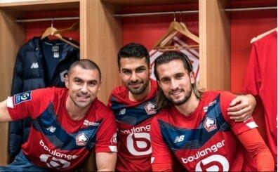 Lille'in eli kolu: Burak, Yusuf, Zeki