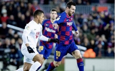 Barça'ya üç puanı Messi getirdi