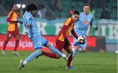 Galatasaray, deplasmanda Rize'ye karşı üstün!