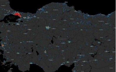 Van koronavirüs haritası (dağılım) var mı?