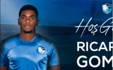Erzurumspor, forvet Ricardo Gomes'i kiraladı