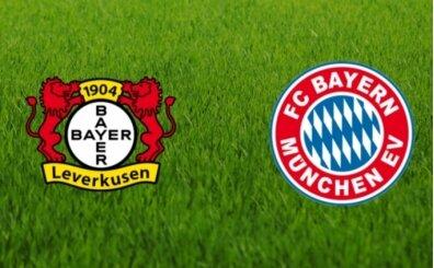 Leverkusen Bayern Münih canlı şifresiz izle