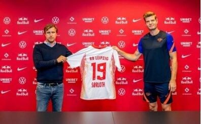Alexander Sörloth: 'Leipzig bana çok uygun!'