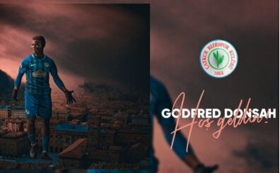 Çaykur Rizespor, Godfred Donsah'ı kadrosuna kattı