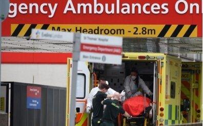 İngiltere'de Kovid-19'dan hayatını kaybedenlerin sayısında rekor artış
