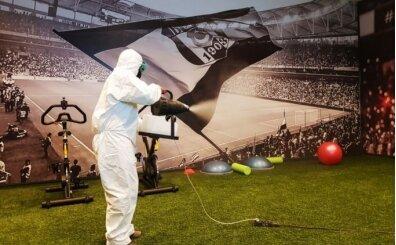 Vodafone Park'ta dezenfekte çalışması yapıldı