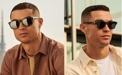 Cristiano Ronaldo şimdi de gözlük işine girdi