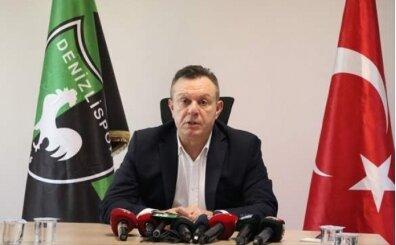 Denizlispor başkanı Ali Çetin: 'En çok hakem hatası bize yapıldı'
