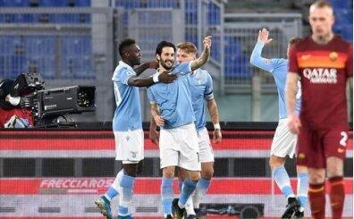 Roma derbisinin kazananı Lazio
