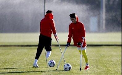Ampute Milli Futbol Takımı Antalya'da kampa girdi