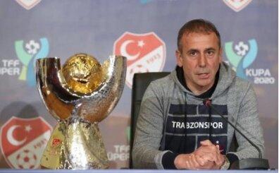 Abdullah Avcı: 'Bu kupa enerjimizi yükseltir'