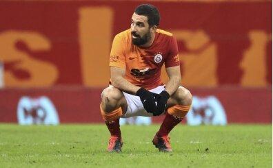 Galatasaray'da Arda Turan'dan hakem tepkisi