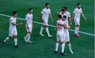 İspanya, Slovakya'yı 5-0'la geçti