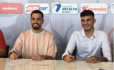 Antalyaspor, 2 transfere imza attırdı