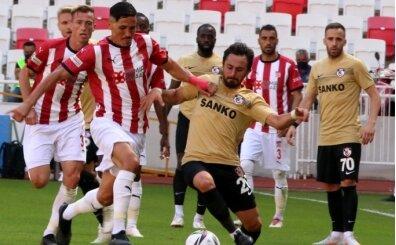 Sivasspor uzatmalarda galibiyeti kaçırdı