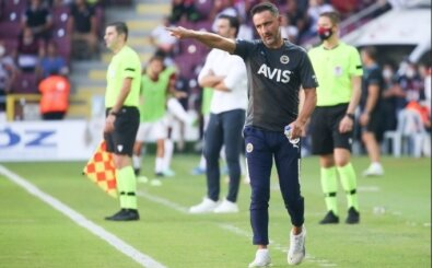 Vitor Pereira'nın milli ara öncesi hedefi belli oldu