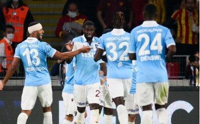 Trabzonspor Avrupa'ya da damga vurdu!