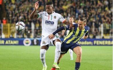 Fenerbahçe, Kadıköy'de Alanyaspor'a kaybetti!