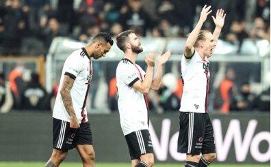 Beşiktaş'ta iki isim antrenmana katılmadı