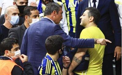 Fenerbahçe'de Ali Koç ve taraftarlar arasında gerginlik