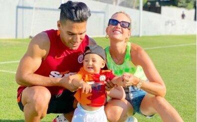 Radamael Falcao'nun ailesi Florya'da
