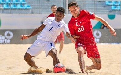 Plaj Futbolu Milli Takımı, Fransa'ya yenildi
