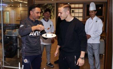 Fenerbahçe'de Pelkas'ın doğum günü kutlandı